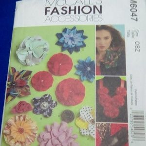 McCall's Fabric Flower Accessories
